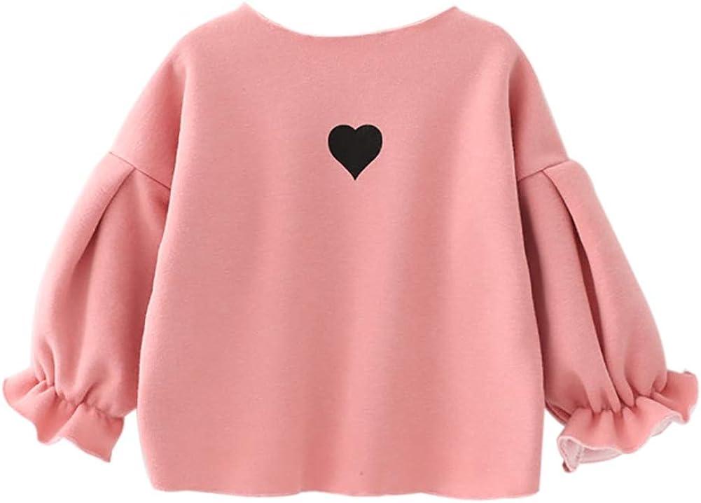 inhzoy Baby M/ädchen Shirt Langarm Streifen T-Shirt Bluse mit Schleifenknoten Kragen Babymode Oberteil Kleinkinder Prinzessin Outfit Fr/ühling Herbst Winter Baumwolle