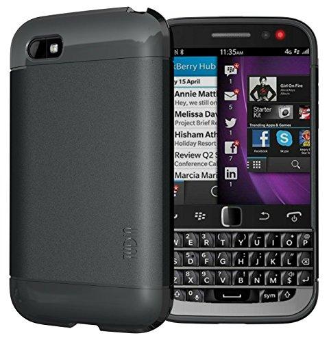 TUDIA LITE TPU Schutzhülle BlackBerry Classic Smartphone (2014 Released) Ultra Slim Hülle (Schwarz)