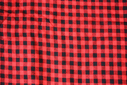 Maasai Shuka AFRIKA ETHNO Überwurf Aus Baumwolle, Für Dekorationen &&Picknick, Schwarz Kariert Rot