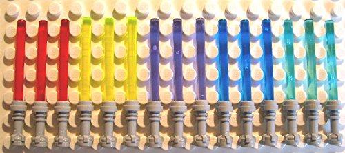 LEGO Star Wars - 15 Laserschwerter 5 Farben inkl. trans dunkelblau