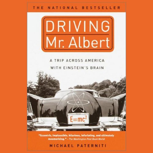 Driving Mr. Albert audiobook cover art