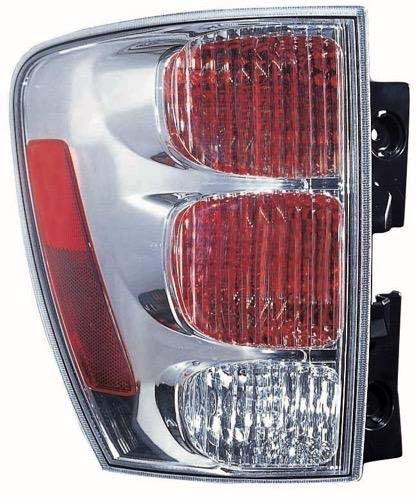 Go-Parts - for 2005 - 2009 Chevrolet Equinox Rear Tail Light Lamp Assembly / Lens / Cover - Left (Driver) Side 5490028 GM2800185 Replacement 2006 2007 2008