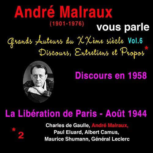 Couverture de André Malraux vous parle