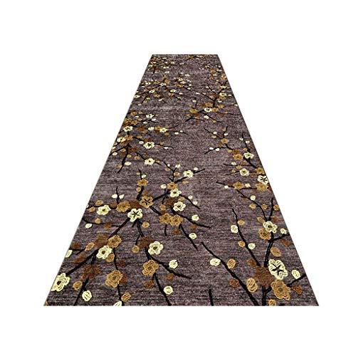 HSRG Pastoral Tapijtloper voor hal, antislip handgemaakt borduurpatroon ideaal voor keuken, slaapkamer vloer