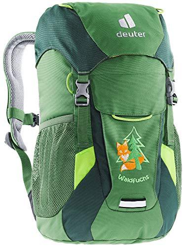 deuter Unisex Jugend Waldfuchs Kinderrucksack, leaf-forest, 10 L