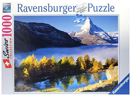 Ravensburger 19350 - Grindjisee mit Matterhorn - Puzzle 1.000 Teile