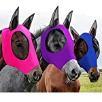 3 Pieces Horse Fly Mask Horse Mask