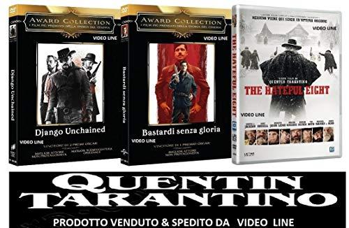 Quentin Tarantino - Django - Bastardi Senza Gloria - The Hateful Eight (3 Film DVD) Edizione Italiana - VIDEO LINE -