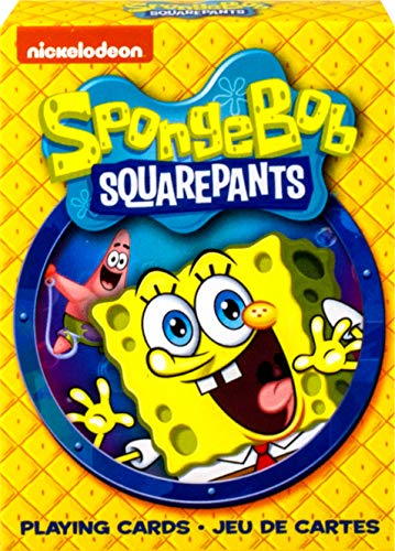 NM Aquarius Spongebob Squarepants Set of Playing Cards