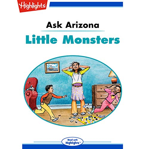 Ask Arizona: Little Monsters copertina