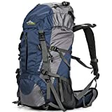 Loowoko Hiking Backpack 50L Travel Camping...