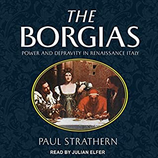 The Borgias audiobook cover art