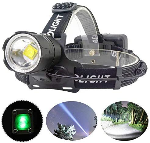MinChen XHP70 2 Led Headlamp High Light 32W Zoomable CREE LED Headlight Head Lamp 3 Working product image