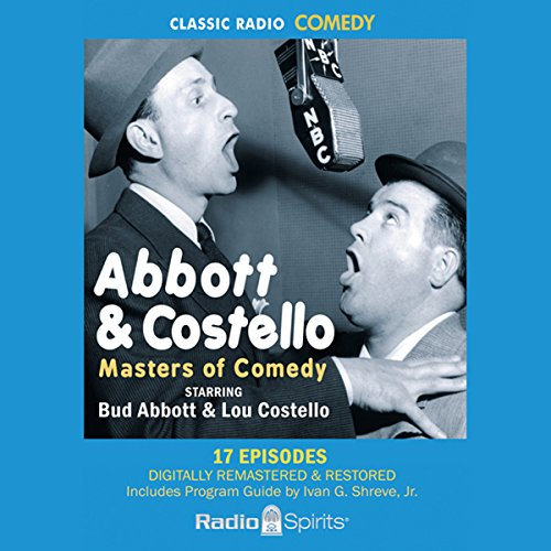 Abbott & Costello audiobook cover art