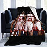 Andppk Jordan-Rodman-Pippen Air-Conditioning Quilts in Summer, Warm Sheets in Winter. Super Soft Blanket, Suitable for Adults Or Children's Sofa Or Bed