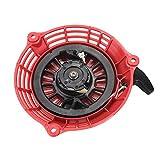OxoxO Reemplaza el conjunto de arranque de retroceso para Honda GC135 GC160 GCV135 GCV160 generador piezas 28400-ZL8-023ZA 28400-ZL8-013ZA