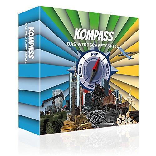Kompass Das Wirtschaftsspiel EIN spannendes Strategie Brettspiel für die ganze Familie