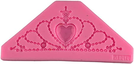 Love Crown Shape Silicone Mold - Love Crown Shape Cake Decoration Mold - DIY Love Crown Shape Chocolate Mold - 1PC