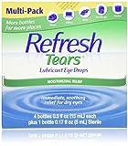 Refresh Tears 2.17 fl Oz Lubricant Moisture Drops for Dry Eyes eye drops Mar, 2021