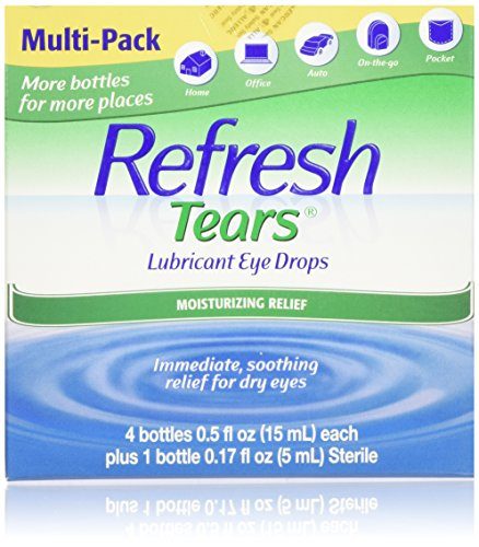 Refresh Tears 2.17 fl Oz Lubricant Moisture Drops for Dry Eyes