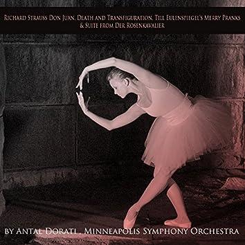 Strauss: Don Juan, Death and Transfiguration, Till Eulenspiegel's Merry Pranks & Suite from Der Rosenkavalier