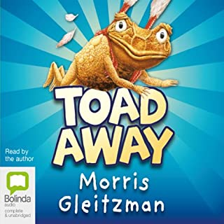 Toad Away audiobook cover art