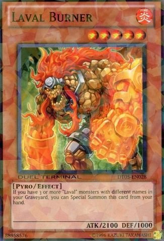 Yu-Gi-Oh! - Laval Burner (DT05-EN028) - Duel Terminal 5 - 1st Edition - Common by Yu-Gi-Oh!