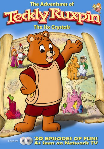 The Adventures of Teddy Ruxpin: Six Crystals Episodes 1-20 [RC 1]