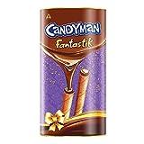 Candyman Fantastik Treat Pack, Choco Wafer Rolls, Chocolate, 200g