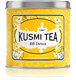 Kusmi Tea - BB Detox - Natural Green Tea with Yerba Mate, Rooibos, Guarana, Dandelion Infusion with a Hint of Grapefruit - 8.8oz of All Natural Premium Loose Leaf Green Tea in Metal Tin (100 Servings)
