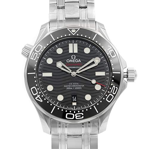 Omega Seamaster Diver 300 Antimagnetic Black Dial Mens Watch 210.30.42.20.01.001