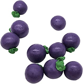 SGYH 1:12 Miniature Fruit Kit10pcs Dollhouse Kitchen Dining Model Decoration Accessories Simulation Play Dolls Toy (Mangosteen)