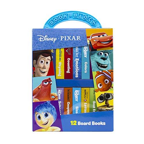 Disney*pixar: My First Library 12 Board Book Block Set