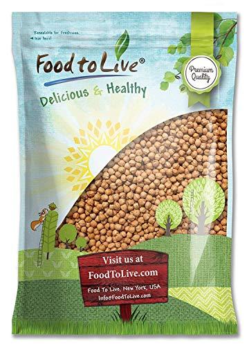 Garbanzo Beans/Chickpea, 5 Pounds - Kosher, Low Sodium, Dry, Bulk