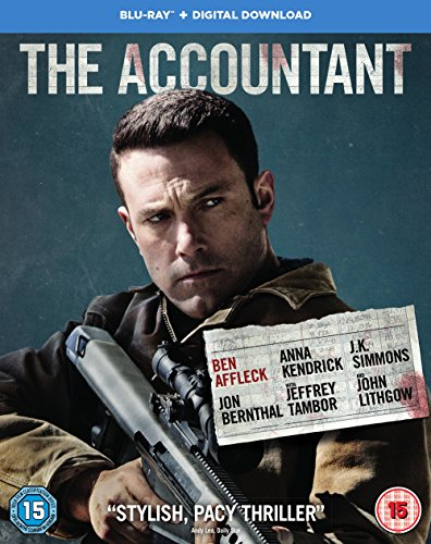 The Accountant [Blu-ray] [2016] [2017]
