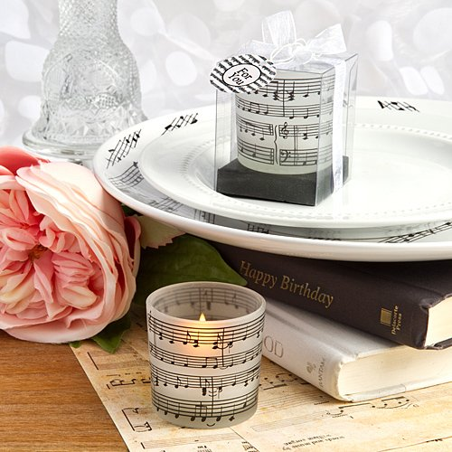 Fashioncraft Musical Note Design Candles (20)