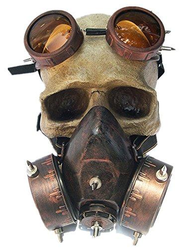 Punk Familie Herren und Damen Fashion Halloween Steampunk Windschutzscheibe Gas Maske