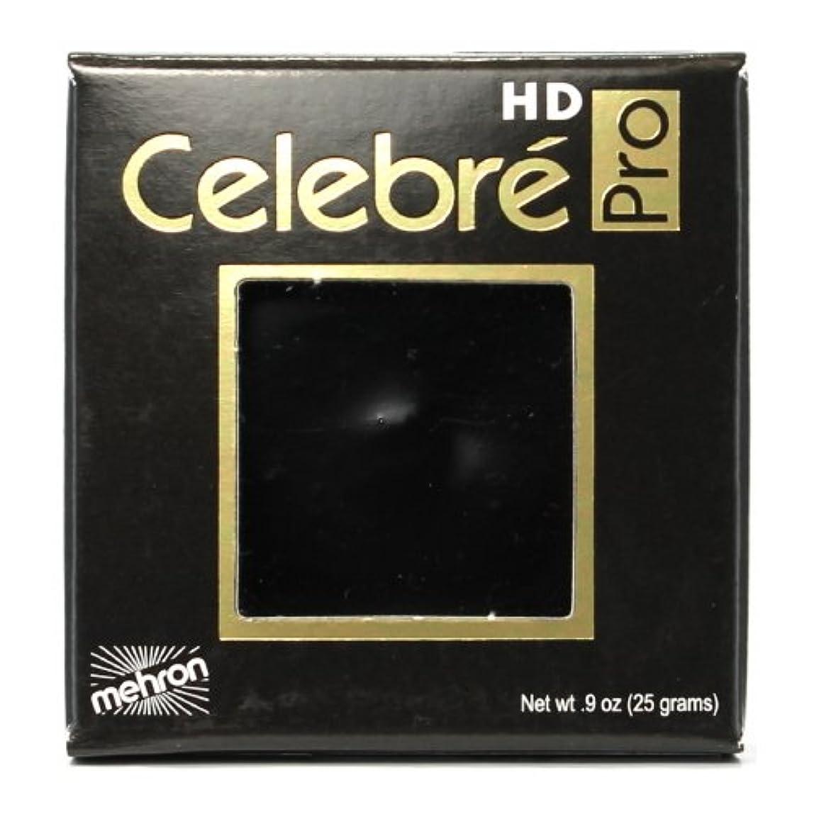 レンジ衣服恐怖症(3 Pack) mehron Celebre Pro HD Make-Up - Black (並行輸入品)