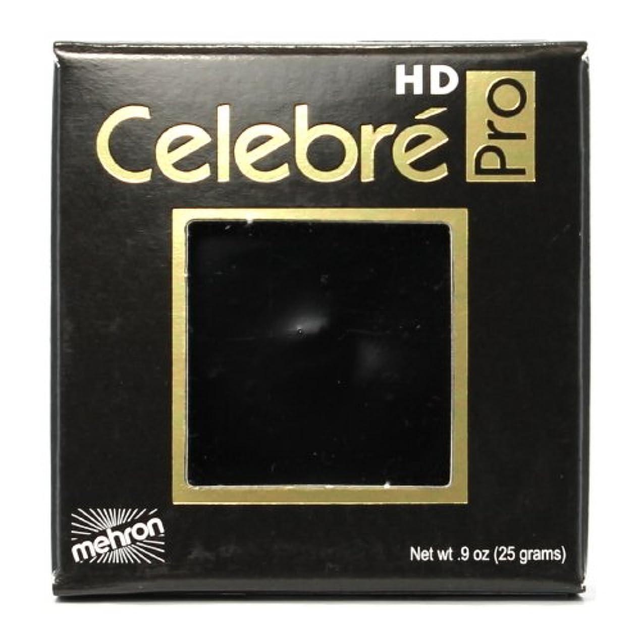 船乗り東方金額(3 Pack) mehron Celebre Pro HD Make-Up - Black (並行輸入品)