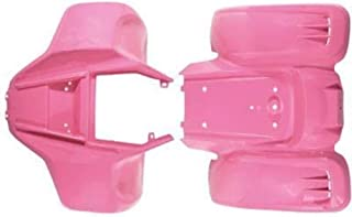 Body Fender Kit for Chinese ATV Quad - Kazuma Meerkat Wombat - PINK by VMC CHINESE PARTS