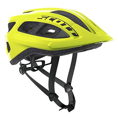 Scott, Helm, Supra, neon-gelb, Einheitsgröße, Unisex, für Erwachsene