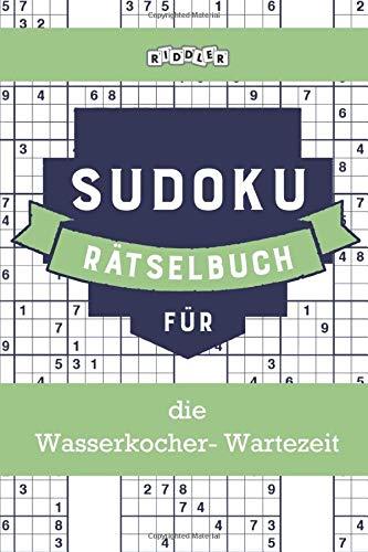 Price comparison product image Sudoku Rätselbuch für die Wasserkocher-Wartezeit