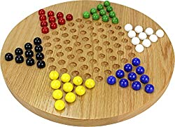 Oak Chinese Checkers