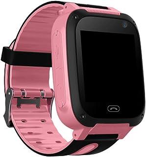 Lightclub T8 Children Kids Waterproof Location Tracker Camera Smart Phone Wrist Watch - Blue