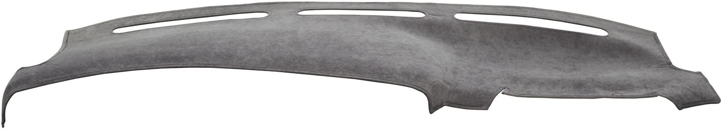 Covercraft DashMat SuedeMat Dashboard Cover for Nissan Leaf Faux-Suede, Gray