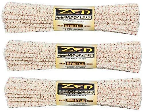 Zen Bundles Zen Pipe Cleaners Hard Bristle, 132 Count - 2 Pack