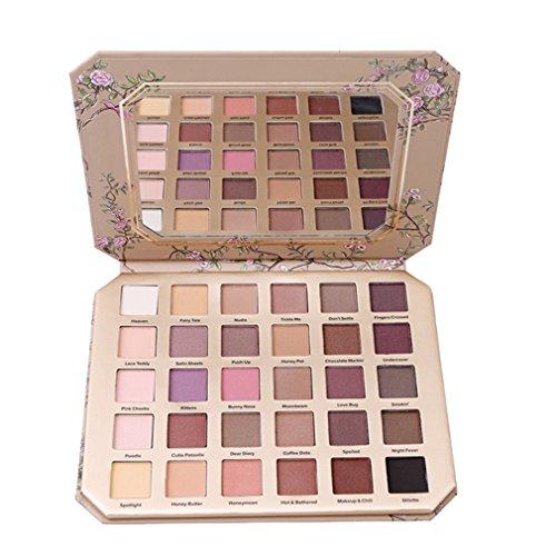 Stayeal 30 Farben Lidschatten Palette Schmink Palette Eyeshadow Augenpalette Schminkpalette