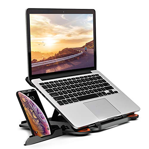 """Foldable Multi-Angle Adjustable Portable Laptop Stand Compatible for 10 to 17"""" Laptops"""