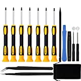 15 in 1 Torx Screwdriver Set with T3 T4 T5 T6 T8...