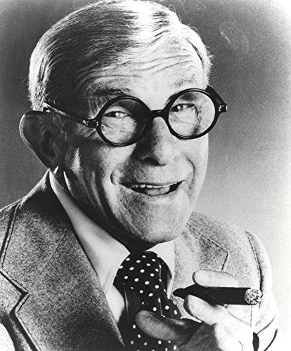 George Burns smoking a cigar Photo Print (8 x 10)